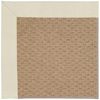 Capel Rugs Creative Concepts Raffia - Canvas Sun Tile (612) Rectangle 12' x 15' Area Rug