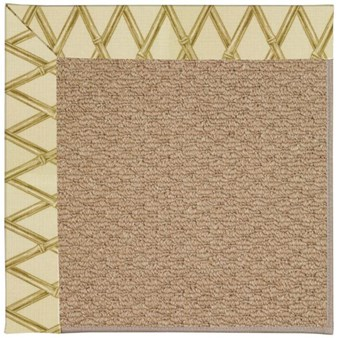 Capel Rugs Creative Concepts Raffia - Bamboo Rattan (706) Rectangle 12' x 15' Area Rug