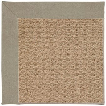 Capel Rugs Creative Concepts Raffia - Canvas Taupe (737) Rectangle 12' x 15' Area Rug