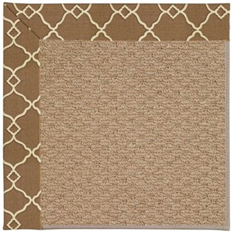 Capel Rugs Creative Concepts Raffia - Arden Chocolate (746) Rectangle 12' x 15' Area Rug