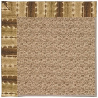 Capel Rugs Creative Concepts Raffia - Java Journey Chestnut (750) Rectangle 12' x 15' Area Rug