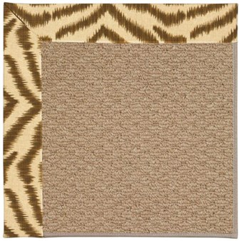 Capel Rugs Creative Concepts Raffia - Couture King Chestnut (756) Rectangle 12' x 15' Area Rug