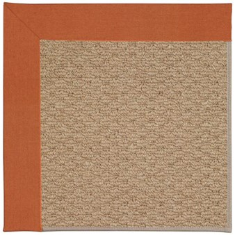 Capel Rugs Creative Concepts Raffia - Canvas Rust (837) Rectangle 12' x 15' Area Rug
