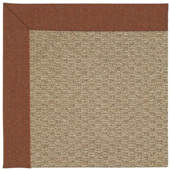 Capel Rugs Creative Concepts Raffia - Linen Chili (845) Rectangle 12' x 15' Area Rug