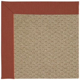 Capel Rugs Creative Concepts Raffia - Canvas Brick (850) Rectangle 12' x 15' Area Rug