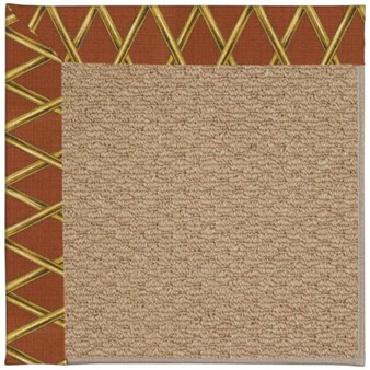 Capel Rugs Creative Concepts Raffia - Bamboo Cinnamon (856) Rectangle 12' x 15' Area Rug