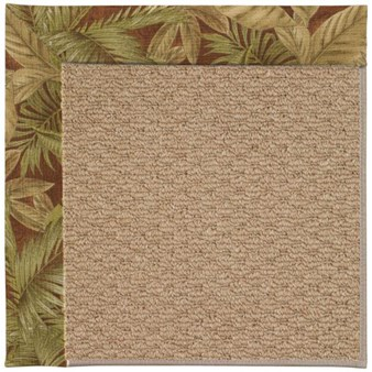 Capel Rugs Creative Concepts Raffia - Bahamian Breeze Cinnamon (875) Rectangle 12' x 15' Area Rug