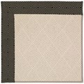 Capel Rugs Creative Concepts White Wicker - Fortune Lava (394) Octagon 6