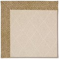 Capel Rugs Creative Concepts White Wicker - Tampico Rattan (716) Octagon 6