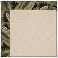 Capel Rugs Creative Concepts White Wicker - Bahamian Breeze Coal (325) Octagon 8