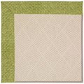 Capel Rugs Creative Concepts White Wicker - Tampico Palm (226) Octagon 10