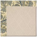 Capel Rugs Creative Concepts White Wicker - Cayo Vista Ocean (425) Octagon 10