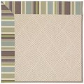 Capel Rugs Creative Concepts White Wicker - Brannon Whisper (422) Octagon 12