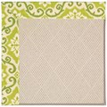Capel Rugs Creative Concepts White Wicker - Shoreham Kiwi (220) Runner 2