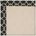 Capel Rugs Creative Concepts White Wicker - Arden Black (346) Runner 2