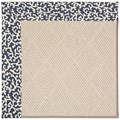 Capel Rugs Creative Concepts White Wicker - Coral Cascade Navy (450) Rectangle 3