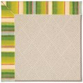 Capel Rugs Creative Concepts White Wicker - Kalani Fresco (239) Rectangle 4