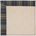 Capel Rugs Creative Concepts White Wicker - Vera Cruz Ocean (445) Rectangle 4