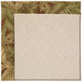 Capel Rugs Creative Concepts White Wicker - Bahamian Breeze Cinnamon (875) Rectangle 4