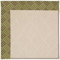Capel Rugs Creative Concepts White Wicker - Dream Weaver Marsh (211) Rectangle 5