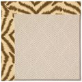 Capel Rugs Creative Concepts White Wicker - Couture King Chestnut (756) Rectangle 6