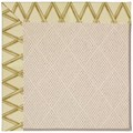 Capel Rugs Creative Concepts White Wicker - Bamboo Rattan (706) Rectangle 7