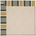 Capel Rugs Creative Concepts White Wicker - Long Hill Ebony (340) Rectangle 8