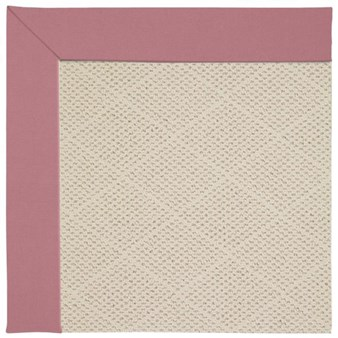 Capel Rugs Creative Concepts White Wicker - Canvas Coral (505) Rectangle 9' x 12' Area Rug