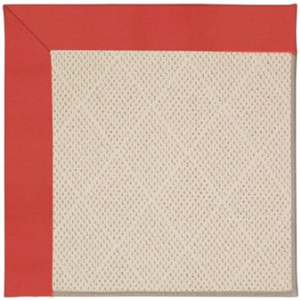 Capel Rugs Creative Concepts White Wicker - Canvas Paprika (517) Rectangle 9' x 12' Area Rug