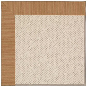 Capel Rugs Creative Concepts White Wicker - Vierra Brick (530) Rectangle 9' x 12' Area Rug