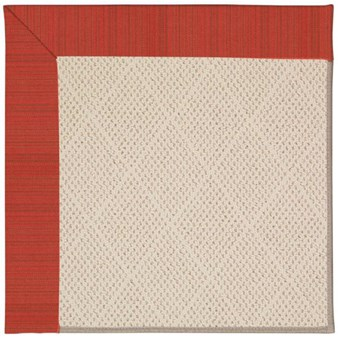 Capel Rugs Creative Concepts White Wicker - Vierra Cherry (560) Rectangle 9' x 12' Area Rug