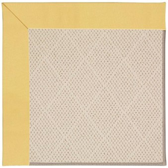 Capel Rugs Creative Concepts White Wicker - Canvas Canary (137) Rectangle 12' x 15' Area Rug