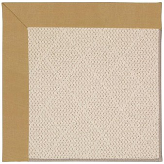 Capel Rugs Creative Concepts White Wicker - Canvas Brass (180) Rectangle 12' x 15' Area Rug