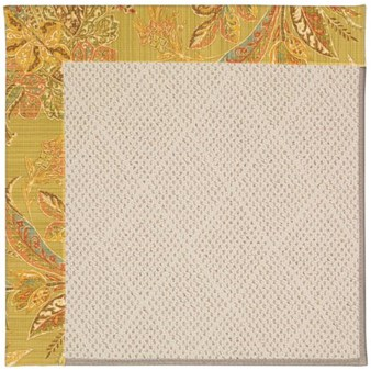 Capel Rugs Creative Concepts White Wicker - Cayo Vista Tea Leaf (210) Rectangle 12' x 15' Area Rug
