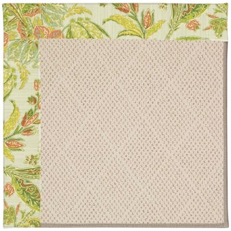 Capel Rugs Creative Concepts White Wicker - Cayo Vista Mojito (215) Rectangle 12' x 15' Area Rug