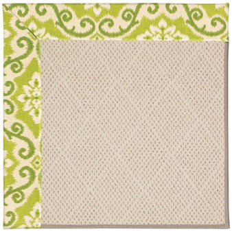 Capel Rugs Creative Concepts White Wicker - Shoreham Kiwi (220) Rectangle 12' x 15' Area Rug