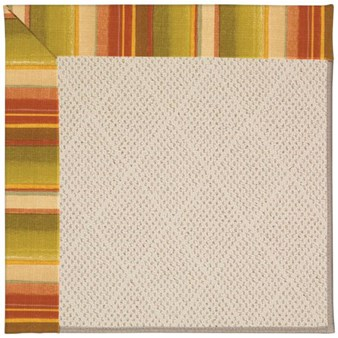 Capel Rugs Creative Concepts White Wicker - Kalani Samba (224) Rectangle 12' x 15' Area Rug