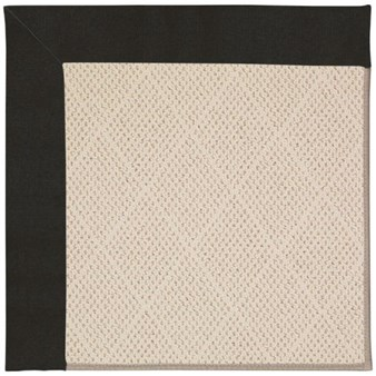 Capel Rugs Creative Concepts White Wicker - Canvas Black (314) Rectangle 12' x 15' Area Rug