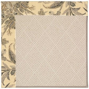 Capel Rugs Creative Concepts White Wicker - Cayo Vista Graphic (315) Rectangle 12' x 15' Area Rug
