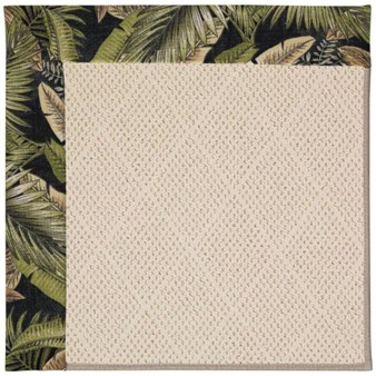 Capel Rugs Creative Concepts White Wicker - Bahamian Breeze Coal (325) Rectangle 12' x 15' Area Rug