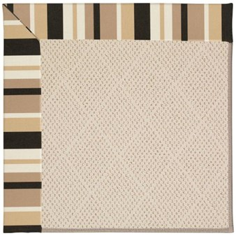 Capel Rugs Creative Concepts White Wicker - Granite Stripe (335) Rectangle 12' x 15' Area Rug