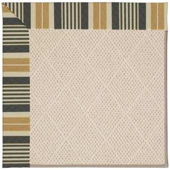 Capel Rugs Creative Concepts White Wicker - Long Hill Ebony (340) Rectangle 12' x 15' Area Rug