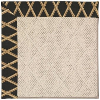 Capel Rugs Creative Concepts White Wicker - Bamboo Coal (356) Rectangle 12' x 15' Area Rug