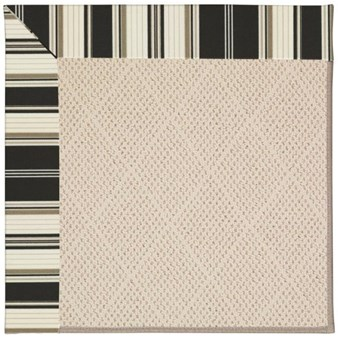 Capel Rugs Creative Concepts White Wicker - Down The Lane Ebony (370) Rectangle 12' x 15' Area Rug