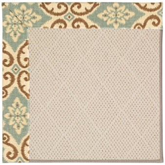 Capel Rugs Creative Concepts White Wicker - Shoreham Spray (410) Rectangle 12' x 15' Area Rug
