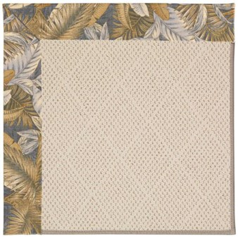 Capel Rugs Creative Concepts White Wicker - Bahamian Breeze Ocean (420) Rectangle 12' x 15' Area Rug