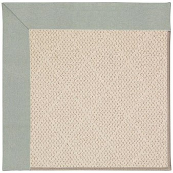 Capel Rugs Creative Concepts White Wicker - Canvas Spa Blue (427) Rectangle 12' x 15' Area Rug