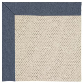 Capel Rugs Creative Concepts White Wicker - Heritage Denim (447) Rectangle 12' x 15' Area Rug