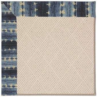 Capel Rugs Creative Concepts White Wicker - Java Journey Indigo (460) Rectangle 12' x 15' Area Rug
