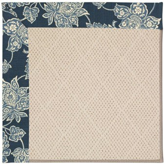 Capel Rugs Creative Concepts White Wicker - Bandana Indigo (465) Rectangle 12' x 15' Area Rug